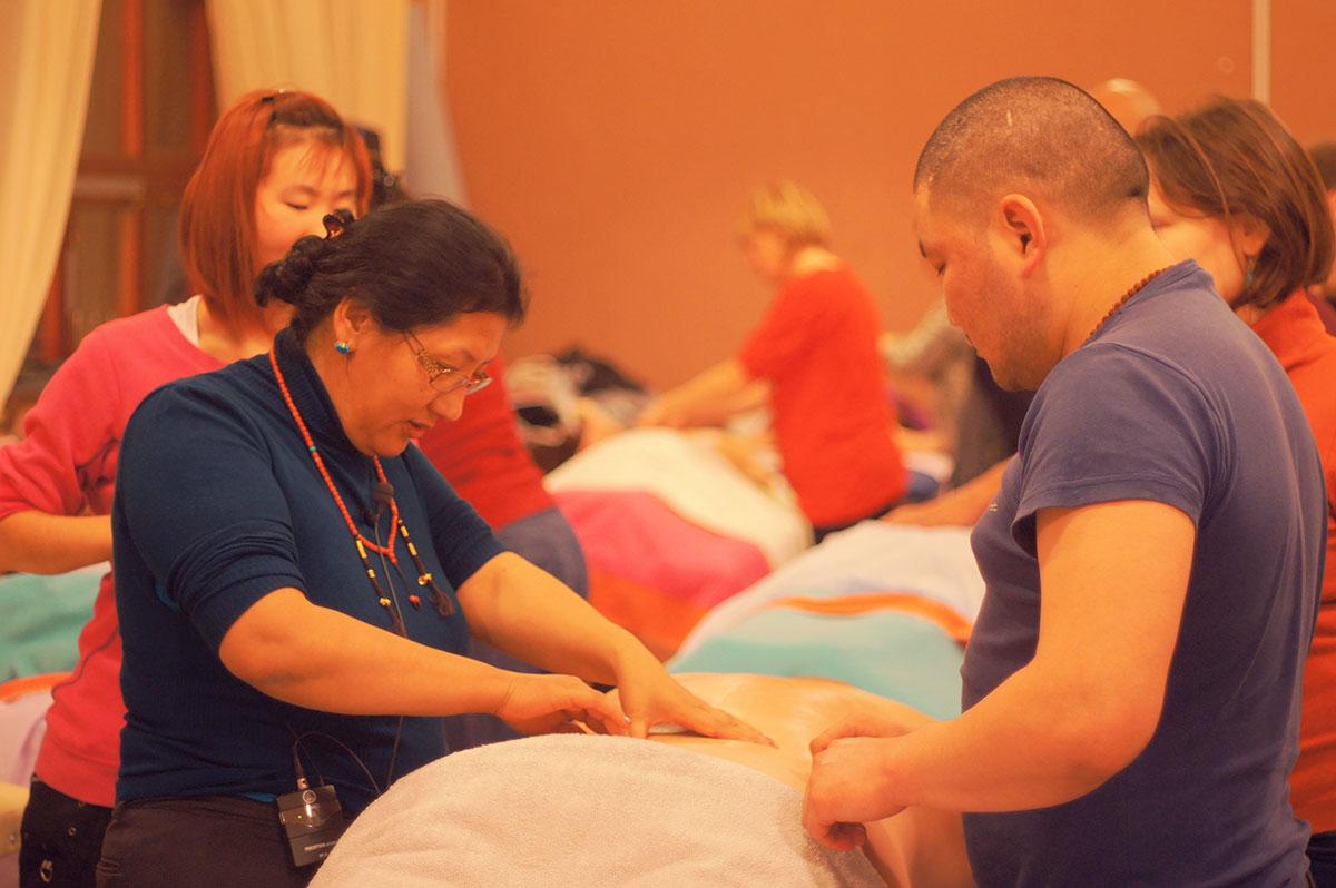 Tibetan Kunye Massage Training